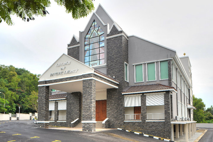 church of divine mercy, sungai ara